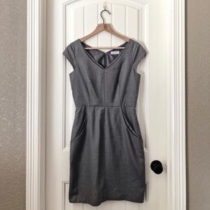CALVIN KLEIN DRESS in gray